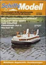 Schiffsmodell 12/85 d  abl