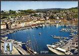 AK Saint-Tropez, Vue aérienne du port    50n
