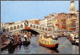 AK Venedig, Der Canal Grande und Rialtobrücke   46/28