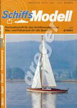 Schiffsmodell 6/94 b  mit Plantafel zur Hafenamt 1