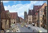 Ak Nürnberg, Königstraße mit Lorenzkirche   34/10