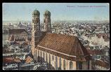AK München, Panorama mit Frauenkirche      72/13