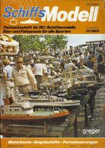 Schiffsmodell 11/83 d  abl