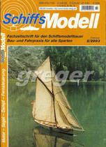 Schiffsmodell 2/03 b