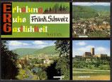 AK  Fränkischen  Schweiz, Mehrbildkarte   21/14
