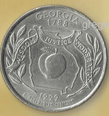QUARTER DOLLAR Georgia von 1999  -   1x