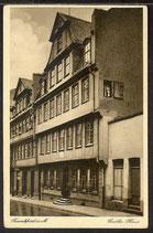 AK Frankfurt am Main Goethe Haus   13/38