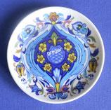 Frühstücksteller ca.20 cm Ø blauer Stempel