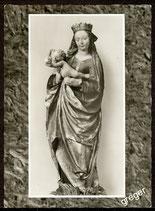 AK Mariaburghausen, Spätgotische Maria mit Kind   74/36