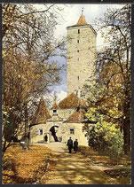 AK Rothenburg ob der Tauber, Burgtor   34/43