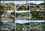 AK Luxembourg, Mehrbildkarte     55/24