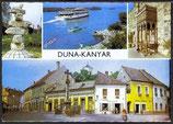 AK Duna-Kanyar, Donauknie Mehrbildkarte   u 12