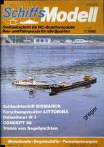 Schiffsmodell 7/86 b