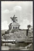 AK Koblenz Kaiser Wilhelm i. Denkmal    43/28
