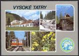 Ak Vysoké Tatry Mehrbildkarte    r-16