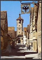AK  Rothenburg ob der Tauber, Klingentor    34/44