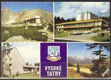 AK Vysoké Tatry, Mehrbildkarte    57/43