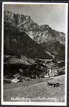 AK Schellenberg mit Untersberg, postal gelaufen   33/33