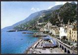 AK  Amalfi. Panorama und Strand    41/19
