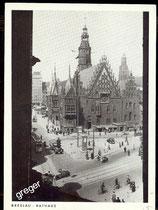 Postkarte, Breslau Rathaus   69/9