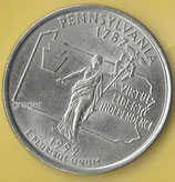 QUARTER DOLLAR Pennsylvania von 1999  -   1x
