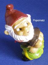 die ganz neuen Blumentopf Zwerge  von 1990  - Popomatz  ohne BPZ   -  1x