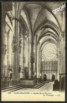 AK Carcassonne, Egiise Saint- Nazaire   40/39