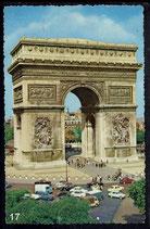 AK Paris, L'Arc de Triomphe     91/17