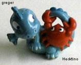 Die Drolly Dinos von 1993  -  Hecktino  - ohne BPZ   -  3x