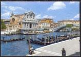 AK Venedig, Brücke und Kirche   46/32