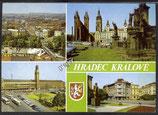 AK Hradec Králové Mehrbildkarte    w43