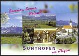 AK Sonthofen im Allgäu, Mehrbildkarte     48p