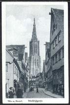 AK Deutsches Reich  Ulm Walfischgasse 11/43