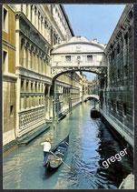 AK Venedig die Seufzer Brücke    z20
