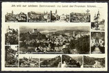 AK Grüße aus Gößweinstein Mehrbildkarte  11/32