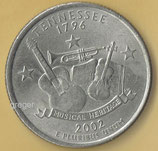 QUARTER DOLLAR - Tennessee von 2002   - 1x