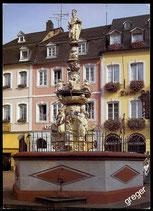 AK Trier, Petrusbrunnen am Hauptmarkt   4-l