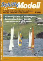 Schiffsmodell 11/90 a