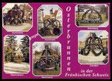 AK Mehrbildkarte Fränkischen Schweiz, Osterbrunnen    71/42