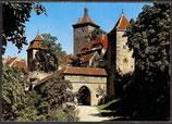 AK  Rothenburg ob der Tauber, Kobolzeller Tor,    34/50