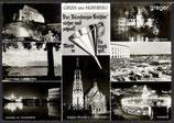 AK Gruß aus Nürnberg, Mehrbildkarte    85p