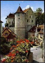 AK Meersburg am Bodensee, Altes Schloss und Bärenbrunnen   66/4