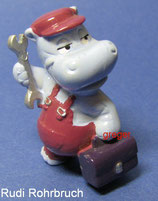 Die Happy Hippo Companie von 1994  - Rudi Rohrbruch  -  ohne BPZ    - 4x