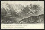 AK Deutsches Reich 1903 Garmisch Blick auf die Zugspitze   14/4