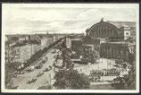 AK Deutsches Reich 1918 Berlin, Königgrätzerstr. und Anhalter-Bahnhof    5/34