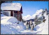 AK Seefeld, Schlittenfahrt nach Mösern gegen Hohe Munde in Tirol   29/29
