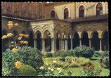 AK Palermo Monreale, Kreuzgang der Benedictiner    62/27