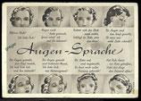 AK Deutsches Reich Augen-Spache    64/3