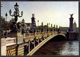 AK Paris Le pont Alexandre-ILL et les Invalides   t 33