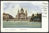 AK Deutsches Reich, Gruss aus München  vom 25.10.1900    91e
